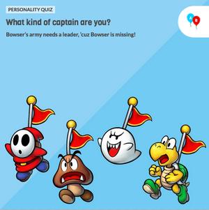 Mario Luigi Superstar Saga Bowser S Minions Game Personality