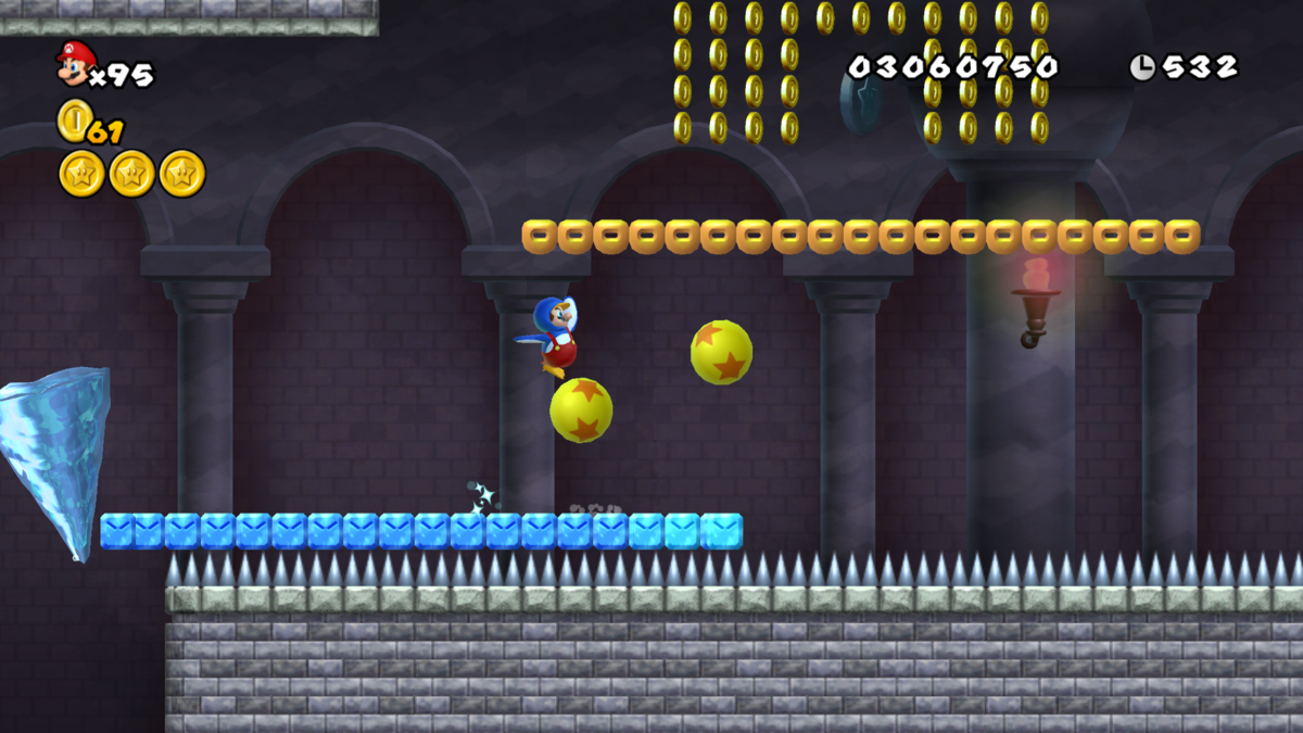 World 3 Castle New Super Mario Bros Wii Super Mario Wiki The