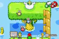 The Splart minigame in both versions of Mario & Luigi: Superstar Saga