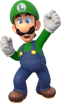 supermarioparty luigipng - Porky Pig Blue Christmas Wikipedia