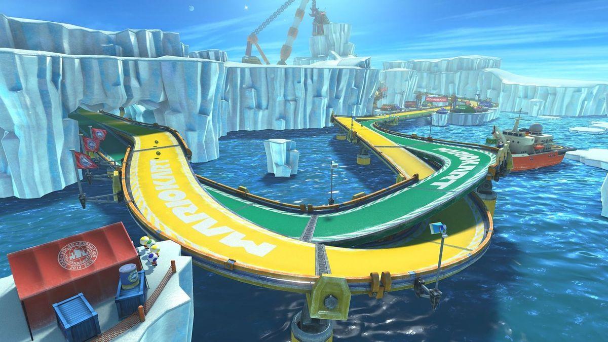 Ice Ice Outpost - Super Mario Wiki, the Mario encyclopedia