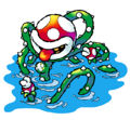 Personajes super Mario: Planta Piraña