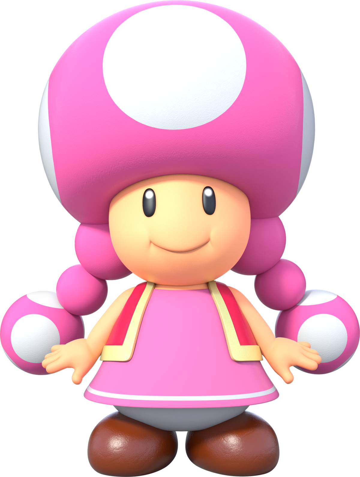 Toadette Super Mario Wiki The Mario Encyclopedia
