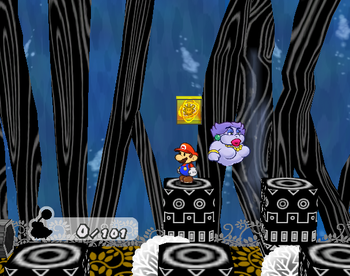 PMTTYD Shine Sprite GreatTreeSymbolRoom.png