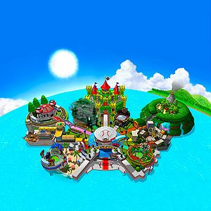 how to revisit the island open mario tennis power tour