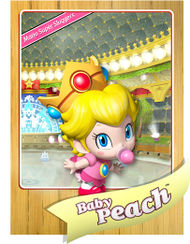 List Of Baby Peach Profiles And Statistics Super Mario