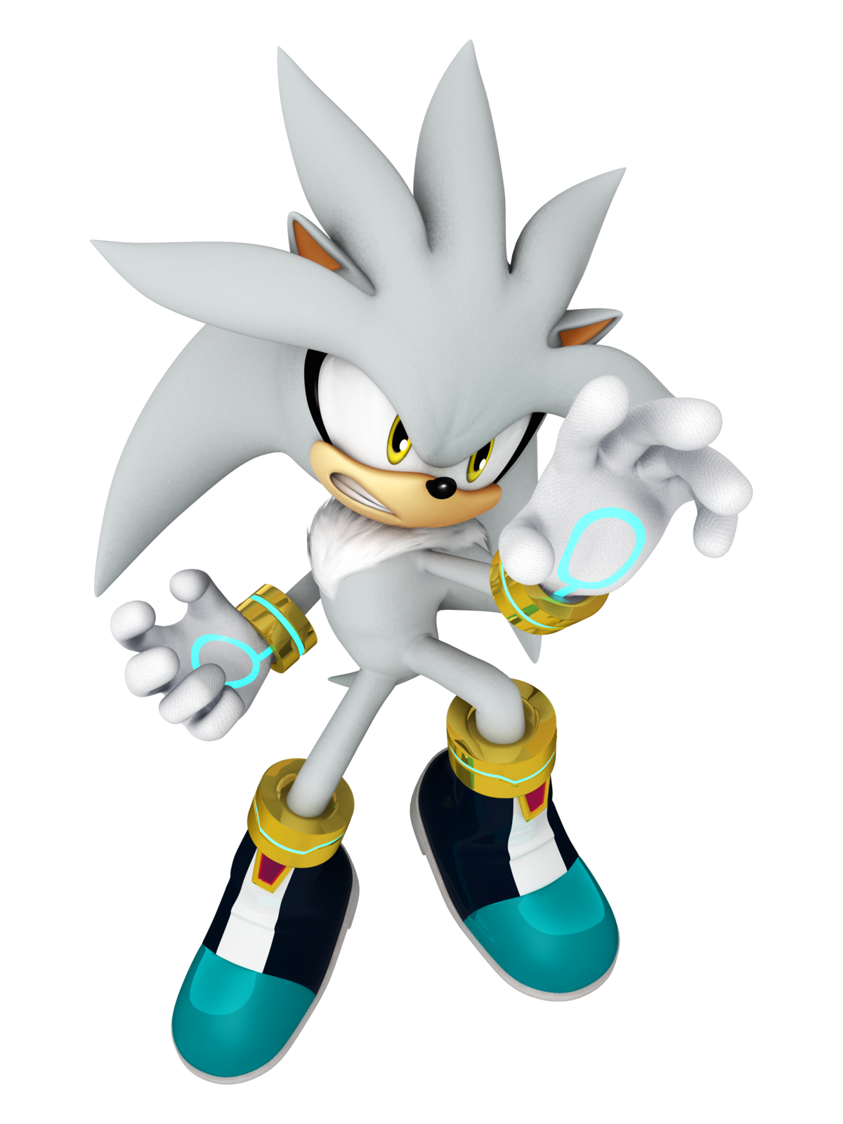 Silver the Hedgehog - Super Mario Wiki, the Mario encyclopedia