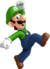 NSMBW Luigi Jumping Artwork.png