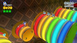 Rainbow Run Level Super Mario Wiki The Mario Encyclopedia