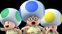 Yellow Toad Super Mario Galaxy Super Mario Wiki The