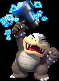 Morton Koopa Jr As He Appears In New Super Mario Bros U