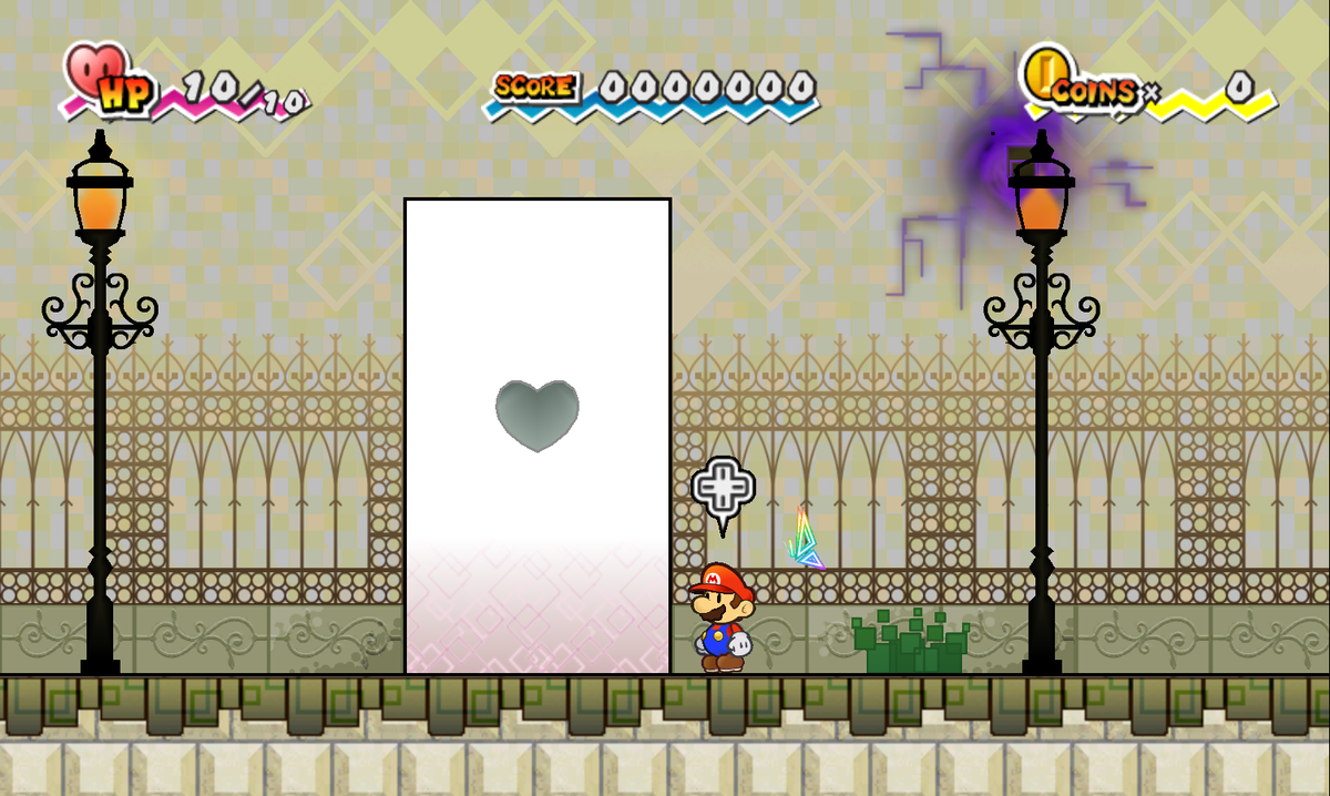 Heart Pillar Super Mario Wiki The Mario Encyclopedia