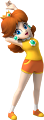 Daisy Artwork - Mario & Sonic at the Olympic Games.png