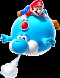 Blimp Yoshi Super Mario Wiki The Mario Encyclopedia