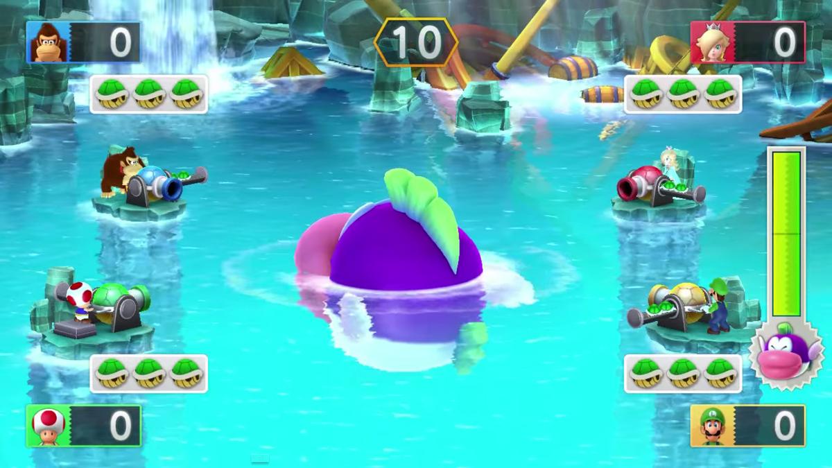 Mega Cheep Chomp's Shell Shock - Super Mario Wiki, the