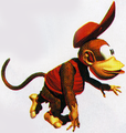 Diddy running DKC artwork.png
