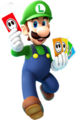 Luigi Card Artwork - Mario Party Island Tour.png