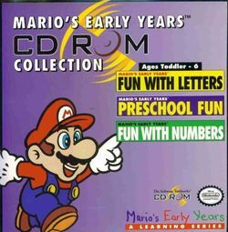 Mario's Early Years! CD-ROM Co...
