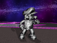 Metal Mario Character Super Mario Wiki The Mario