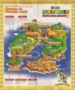 SMW SMA2-Dinosaur Land Map Artwork.png