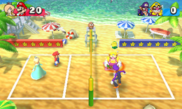 Beach Volley Folly - Super Mario Wiki, the Mario encyclopedia
