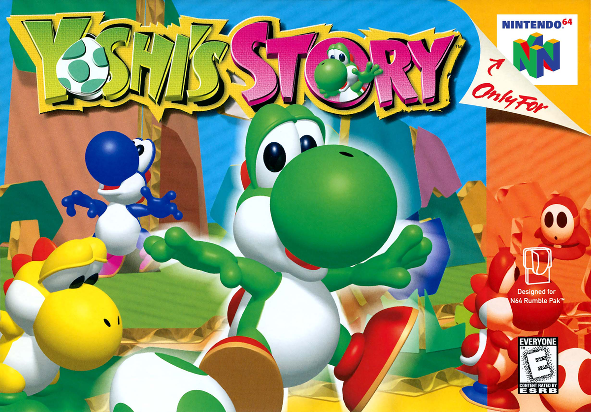 Yoshi's Story - Super Mario Wiki, the Mario encyclopedia