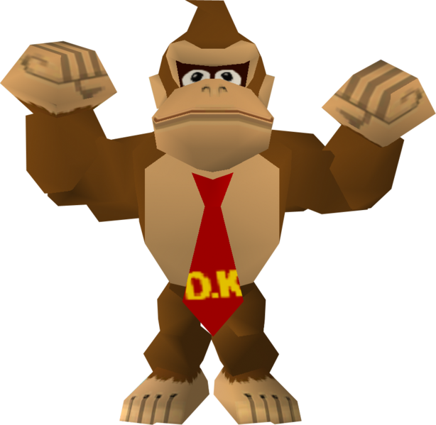 File:DKMarioGolf64Model.png