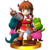 SSB3DS Sable Prince trophy.png