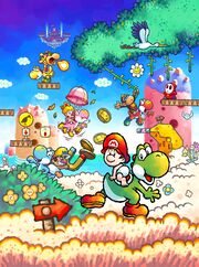 Mariowikifeatured imagesarchive 1 super mario wiki the mario subject promotional artwork from yoshis island ds sciox Image collections