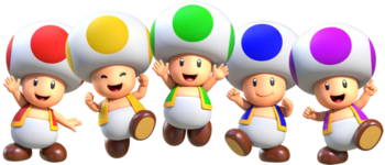 Toad Species Super Mario Wiki The Mario Encyclopedia