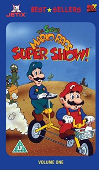 The Super Mario Bros Super Show Volume One Vhs Super Mario