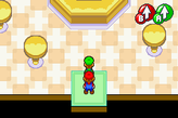The Starbeans Cafe in both the original game and the remake.