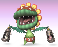 Artwork of Petey Piranha in Super Smash Bros. Brawl.
