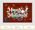 Mario and Yoshi Holiday Jigsaw Puzzle Online title screen.png