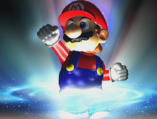 Mario Trophy transforms Melee.png