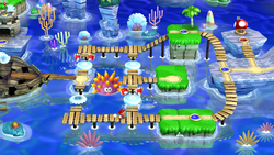 Sparkling Waters Super Mario Wiki The Mario Encyclopedia