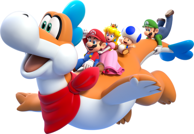 Character(s) of choice? (Super Mario 3D World) 640px-Plessie_Artwork_-_Super_Mario_3D_World