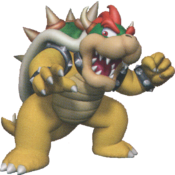 Bowser in Super Mario Sunshine.