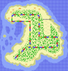 MKSC SNES Koopa Beach 2 Map.png