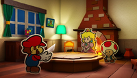 Paper Mario Color Splash - Mario House.png