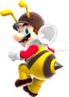 Bee Mario Super Mario Galaxy.png