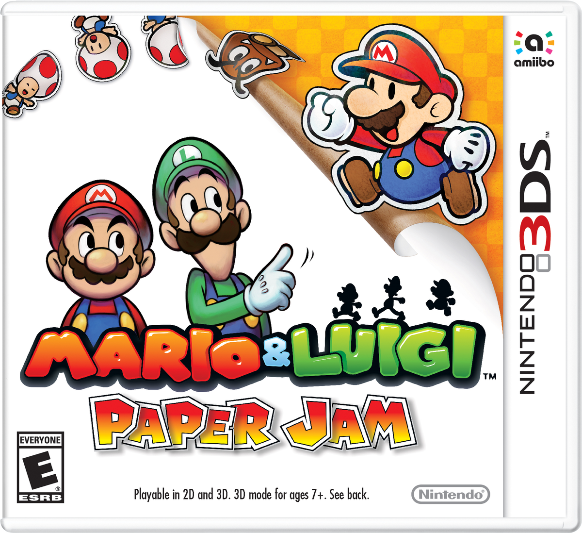 Mario Luigi Paper Jam Super Mario Wiki The Mario Encyclopedia