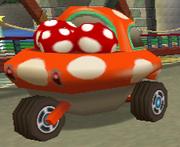 Mushroom Car Super Mario Wiki The Mario Encyclopedia