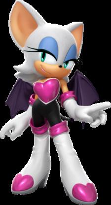 Rouge The Bat Super Mario Wiki The Mario Encyclopedia
