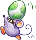 Little Mouser Artwork - Yoshi's New Island.png