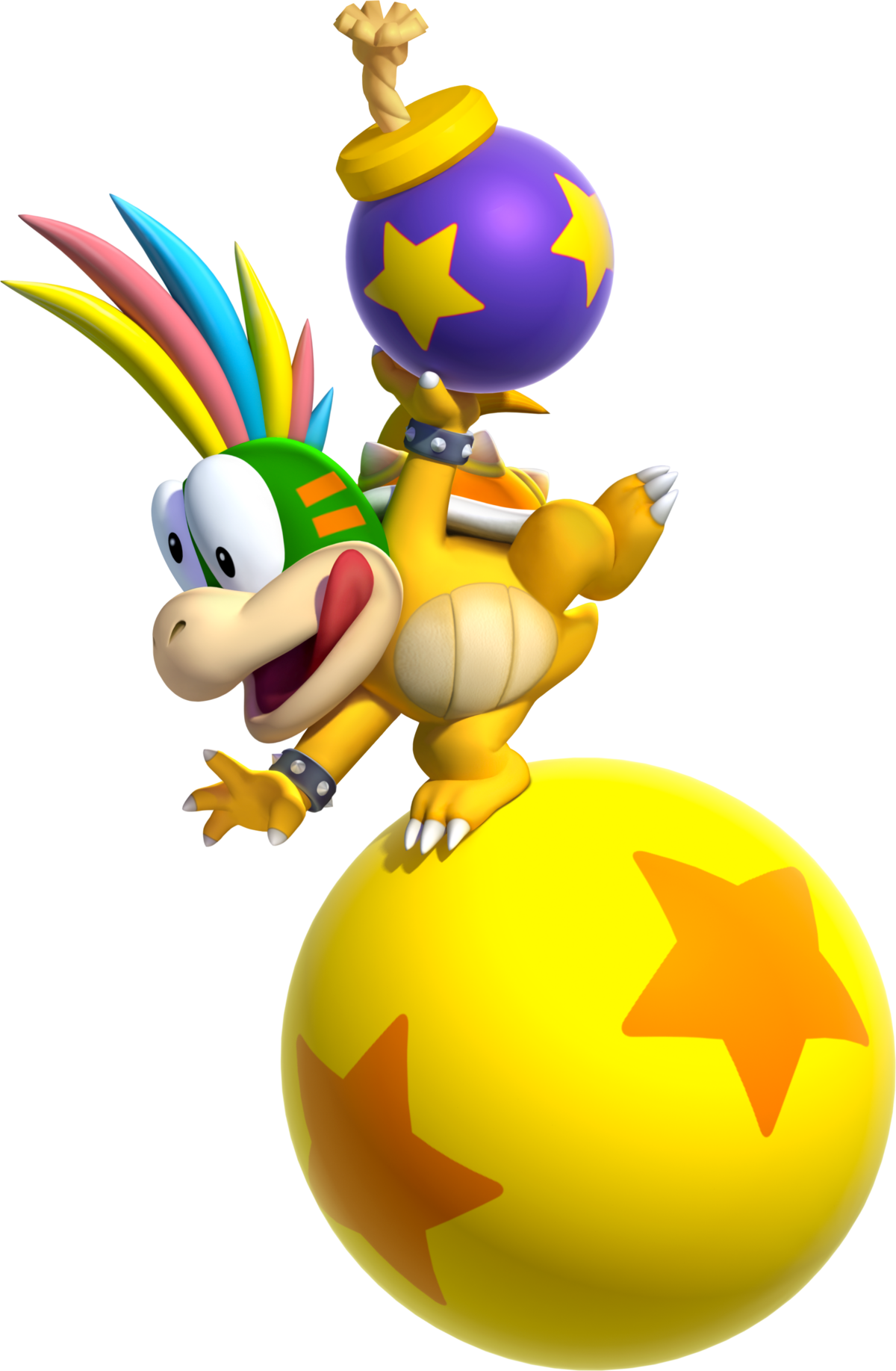 Lemmy Koopa Super Mario Wiki The Mario Encyclopedia