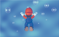 Mario Swimming Artwork (alt 3) - Super Mario 64.png