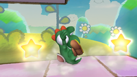 The Yoshi Bomb, in Brawl.